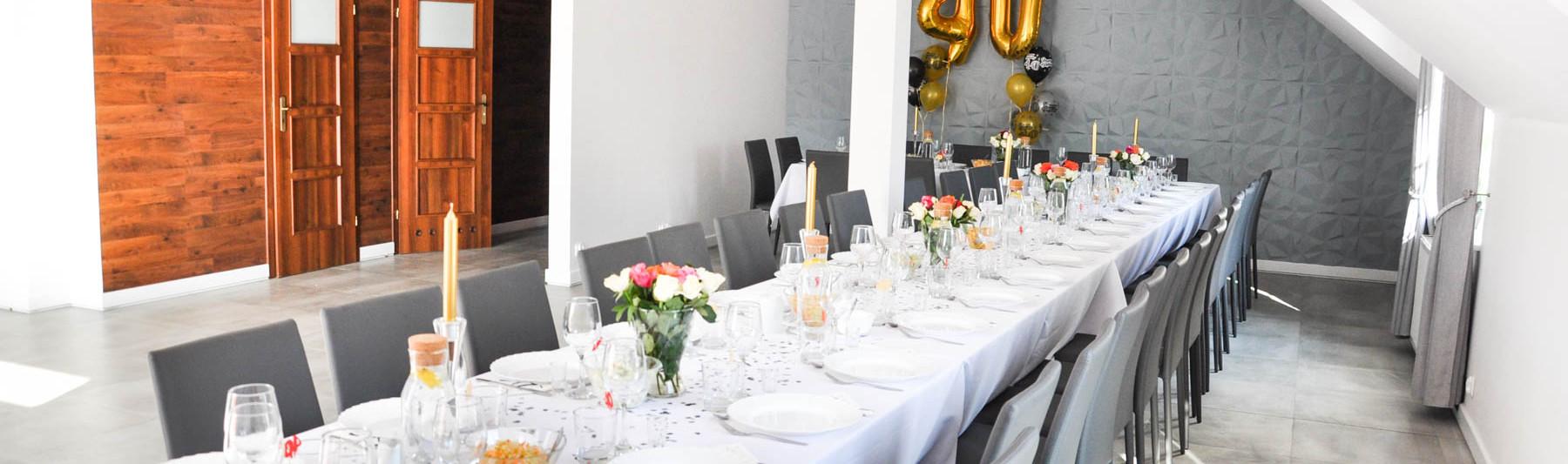 sala bankietowa łapalice Kartuzy sala na chrzciny komunię urodziny przyjęcie do 40 osób